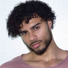 Mixed Guys With Curly Hair