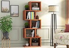 buy cagney book shelves honey finish in india