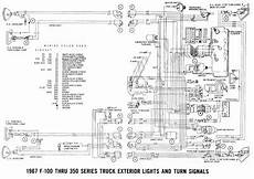 Ford F 100 Through F 350 Truck 1967 Exterior Lights And