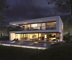 Okal Planungsvorschlag Villa Im Bauhausstil Fertighaus