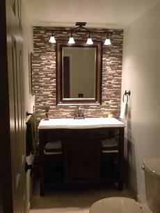 Bathroom Tile Ideas Half Bath by Half Bath Bathroom Ideas Powder Vanities