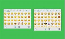 whatsapp f 252 r android beta version mit neuem emoji design