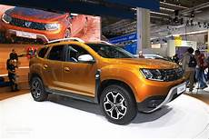 dacia duster 2 2018 dacia duster 2 is probably the cheapest compact crossover in frankfurt autoevolution