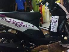 Variasi Motor Mio Sporty by Sticker Variasi Untuk Mio Sporty Oto Trendz