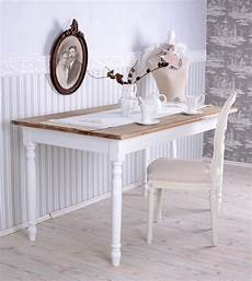 esstisch shabby look dining room table shabby chic dining table white kitchen
