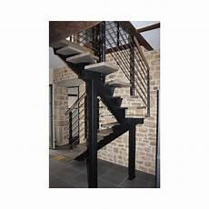 tarif escalier sur mesure escalier 2 quart tournant limon central en metal