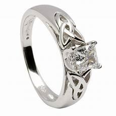 silver celtic wedding rings uk