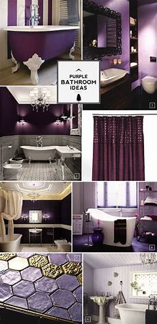 Purple And Gold Home Decor Ideas by Color Guide Purple Bathroom Ideas And Designs Home