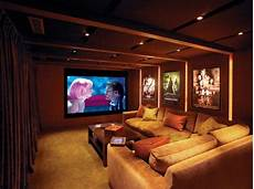 Home Theater Decor Ideas by Small Modern Home Theater Ideas