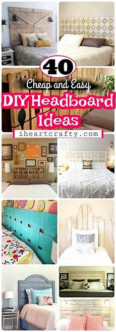 Bedroom Ideas Cheap And Easy by Diy Headboards 40 Cheap And Easy Diy Headboard Ideas