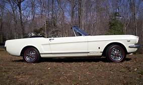 1966 FORD MUSTANG GT K CODE CONVERTIBLE  40109