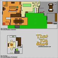 sitcom house floor plans pin on that 70s show