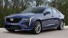 2020 cadillac ct4 v sedan unveiled youtube