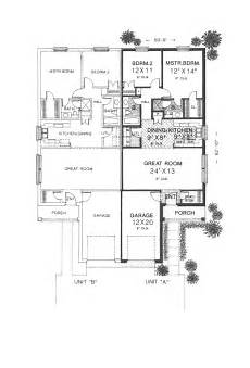 single story duplex house plans 24 best images about duplex single story ranch homes on