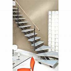 escalier alu pas cher escalier quart tournant escatwin structure aluminium