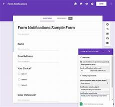 quickstart add on for google forms g suite add ons