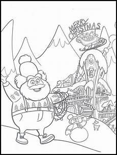 Grinch Malvorlagen El Grinch 1 Dibujos Para Colorear Dibujos Para Imprimir Y