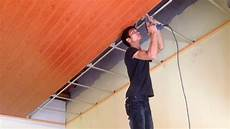 How To Install Plastic Panels On The Ceiling Easy