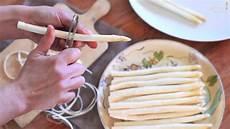 wie schält spargel rezept spargel zubereiten