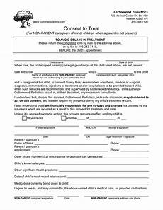 medical consent form for grandparents templates at allbusinesstemplates com