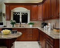what paint colors best with cherry cabinets