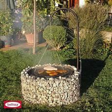 garten feuerstelle mit grill 92 72x40cm stahl bei hellweg