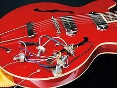 how to change the pickups a gibson es 335 style guitar musicradar