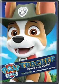 Paw Patrol Malvorlagen Tracker Tracker Joins The Pups Dvd Paw Patrol Wiki Fandom