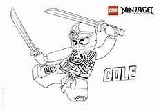 Malvorlagen Ninjago Cole Ausmalbilder Ninjago Malvor