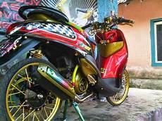 Mio Soul Modif Trail by Modifikasi Nouvo Racing Terkeren Dan Terbaru