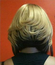 two tone bob hairstyles two tone brown with on top sew in
