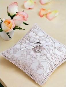 free ring bearer pillow crochet pattern weddings crochet i pronounce you nate and jennie