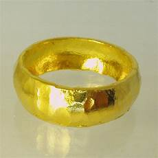 pure solid gold wedding band 24 karat solid gold ring100