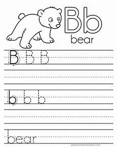 letter practice b worksheets dorky doodles