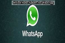 60 Cool Status For Whatsapp