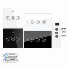 Moeshouse Wifi Rf433 Smart Touch Curtain moeshouse us eu wifi rf433 smart touch curtain roller