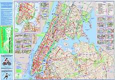 New York Malvorlagen Pdf New York City Bike Map Nyc Mappery