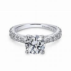 engagement rings avery avery 14k white gold engagement ring