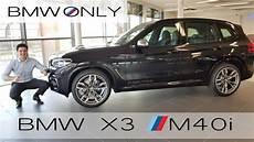 occasion bmw x3 2018 bmw x3 m40i exhaust sound interior