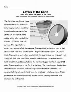 layers of the earth worksheets 14425 earth layers comprehension earth layers comprehension earth science