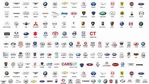 Car Company Logos  All With Names