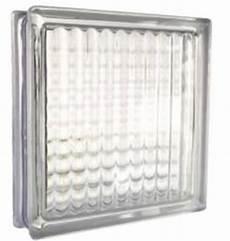 briques de verre incolores