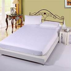 cheap fitted sheets wholesale solid color 100 cotton white single full queen king bed size fitted sheet bed