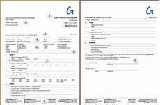 reflex standard report lieferschein gevitas