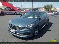 2015 Hyundai Sonata Blue by Nouveau Blue 2015 Hyundai Sonata Sport 2 0t Gray