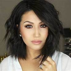 fresh layered short hairstyles for round faces crazyforus