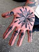 Palm Tattoos  Tattoo Designs Pictures
