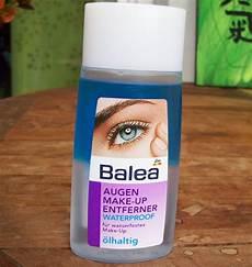 Wasserfestes Make Up - test augen make up entferner balea augen make up