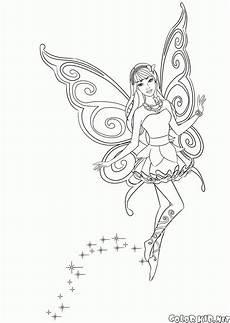 Ausmalbilder Schmetterling Fee Ausmalbild Schmetterling Bild