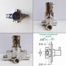 montage robinet encastrable robinet thermostatique century